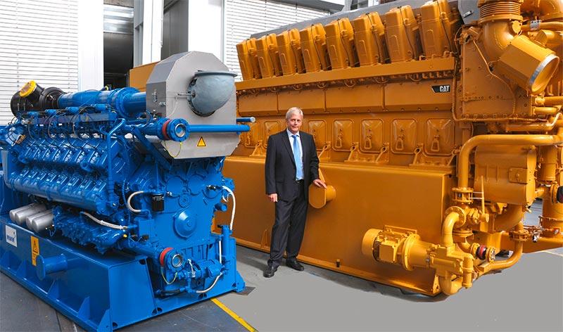Willy Schumacher, Geschäftsführer MWM GmbH