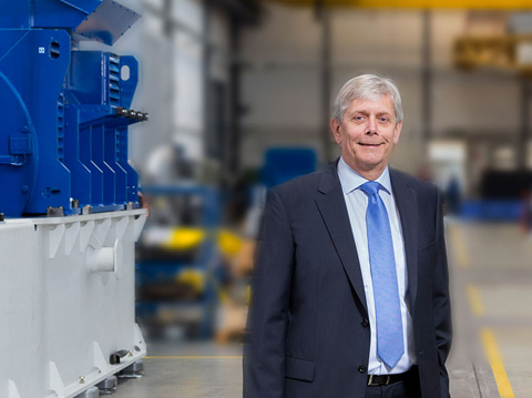 Willy Schumacher CEO of Caterpillar Energy Solutions GmbH