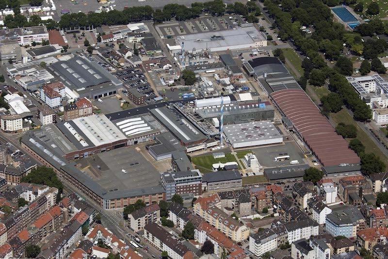 Standort des Top-Traditionsunternehmen Caterpillar Energy Solutions in Mannheim