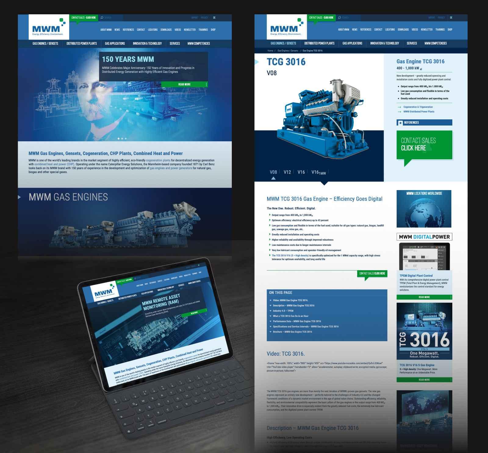 New MWM Website Design